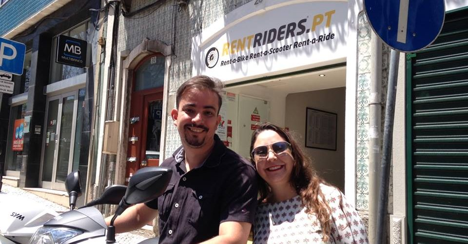 Nos amis du Brasil @ Rent Riders - Location de Scooters - Lisbonne