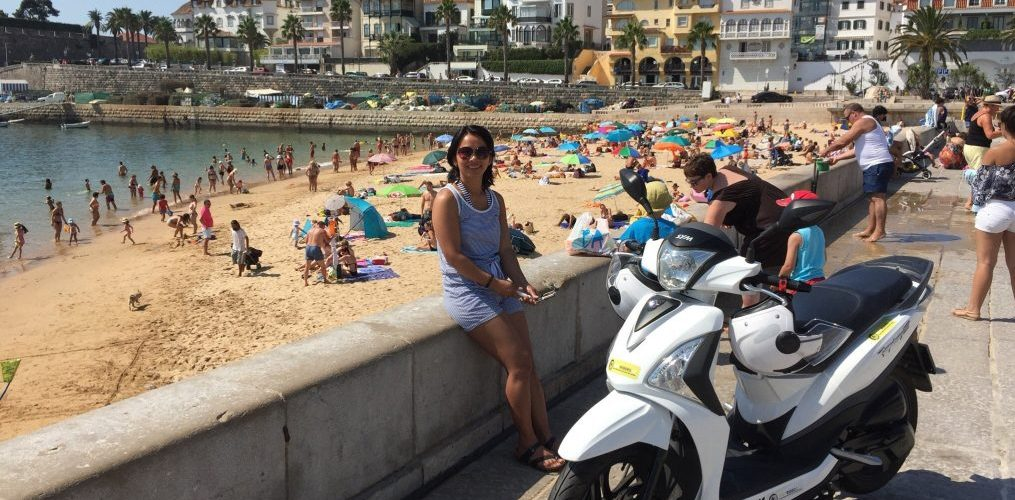RentRiders - Rent a Scooter - Lisbon - Marginal Lisboa Cascais