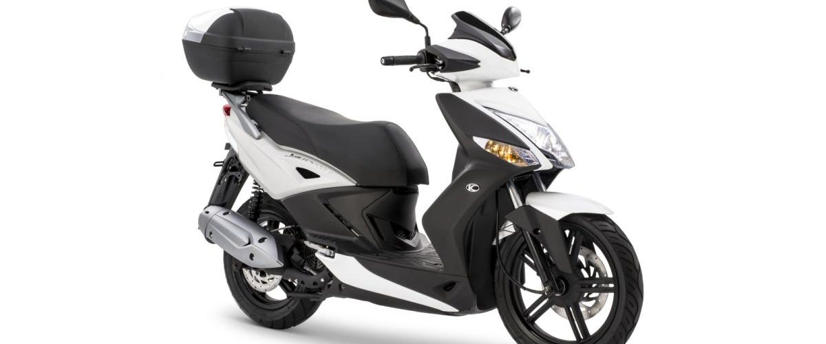 Rent a Scooter Lisbon - New Kymco Agility City Top Case 125