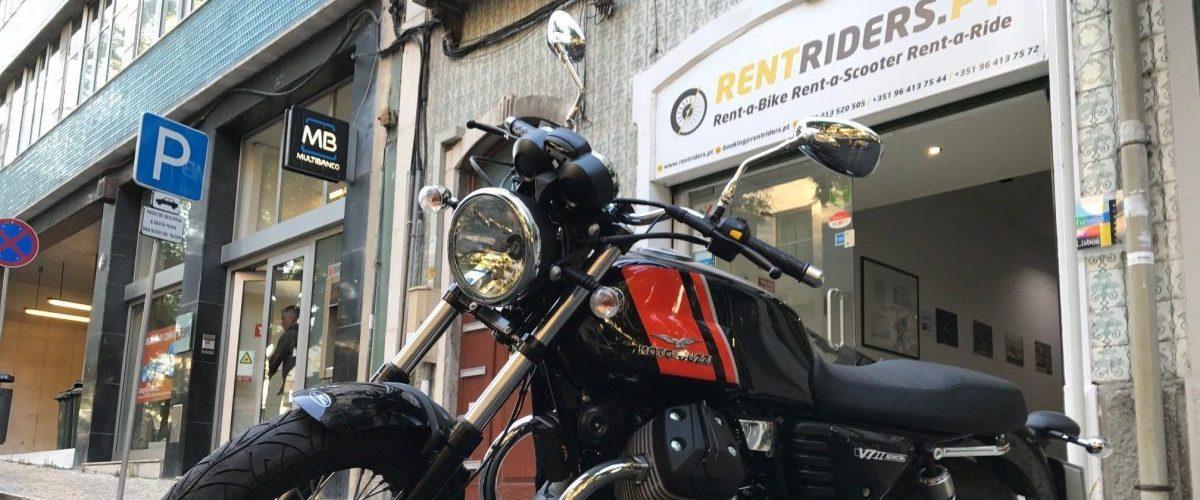 Location de Moto Guzzi V7 Special @ RentRiders.Pt Lisbonne