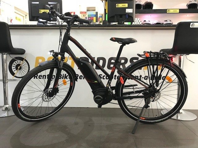 Rent a Electric Bike Scott e-Sub Active and enjoy Lisbon