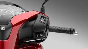 Honda SH125i Start and Stop System